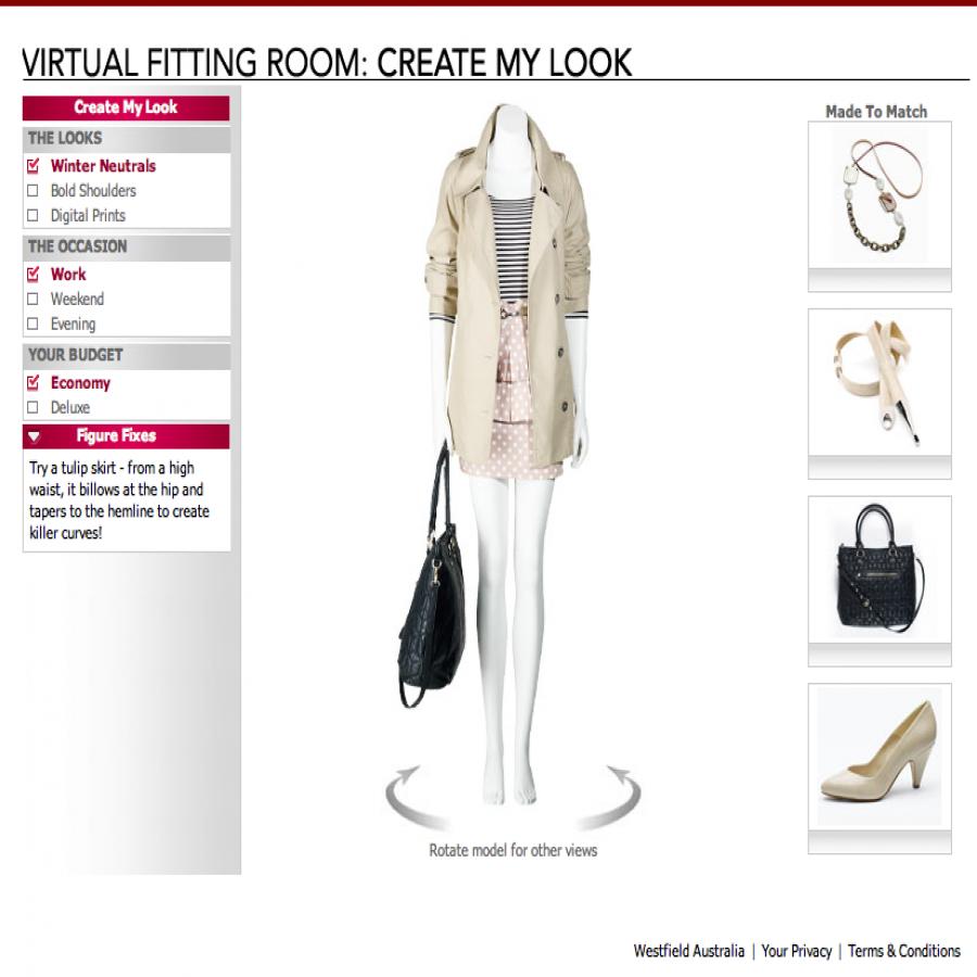 Westfield Fashion screen grab