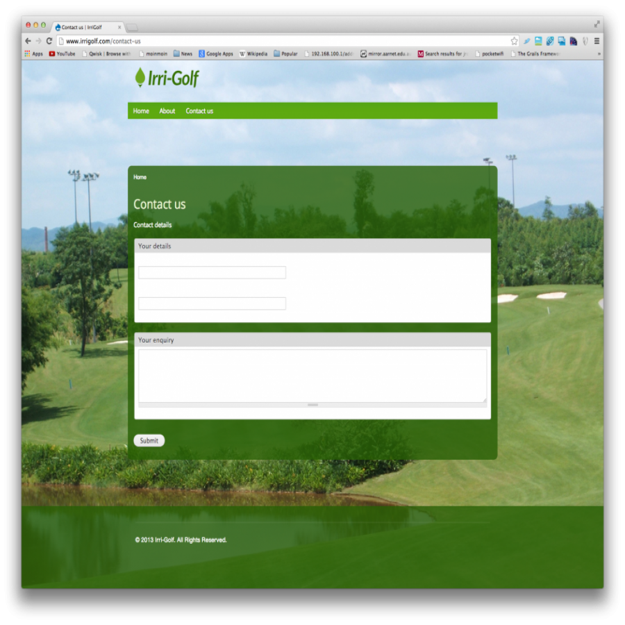 Irri Golf Screen Shot
