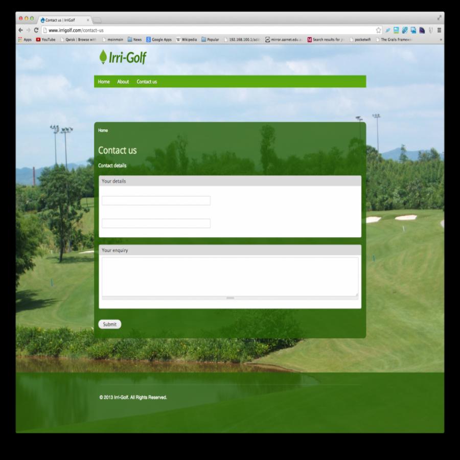 Irri Golf Screen Shot