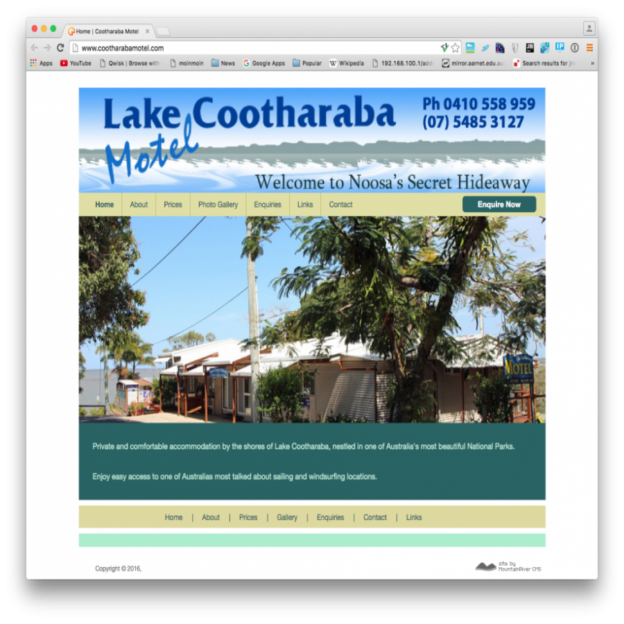 Lake Cootharaba Motel