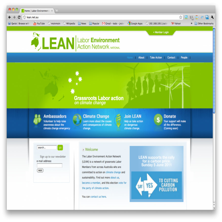 Lean screen grab