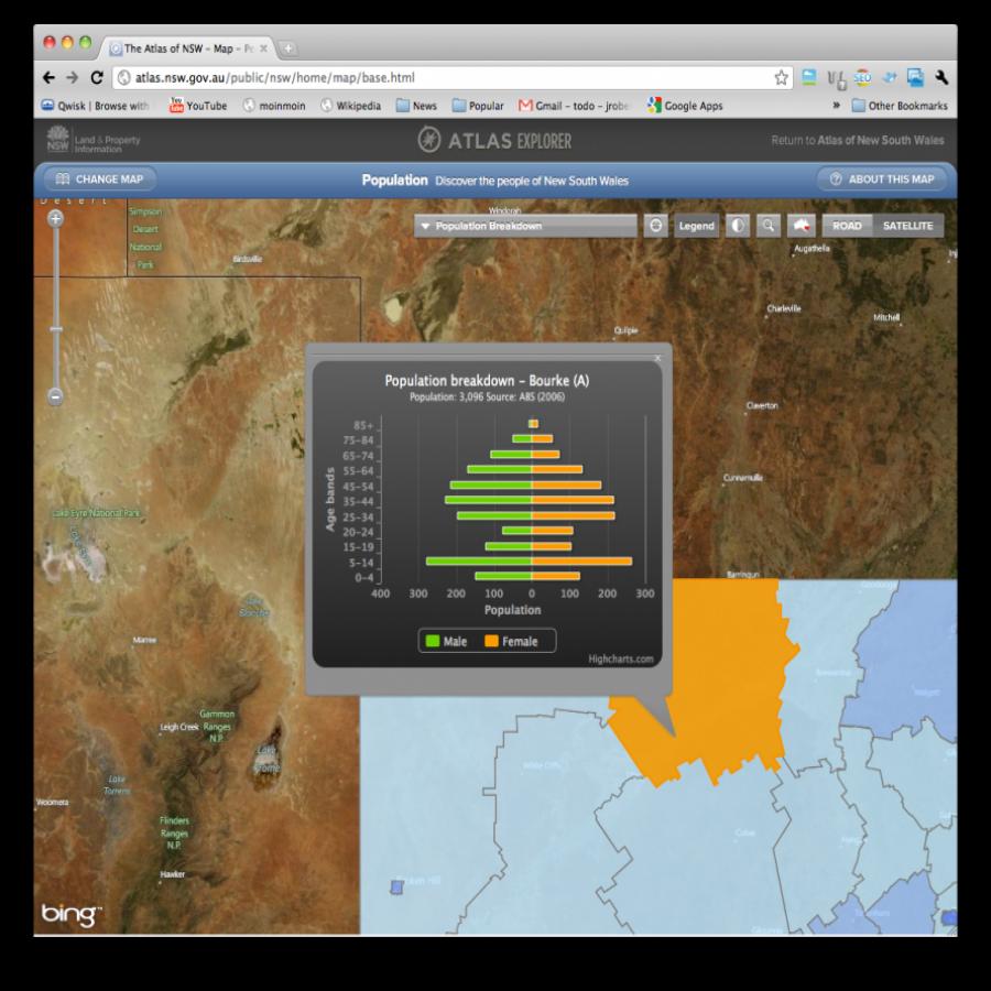 NSW Atlas screen grab